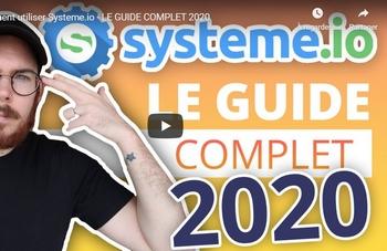 Avis Systeme-io : Fonctionnement sur ce logiciel de vente de formation en ligne