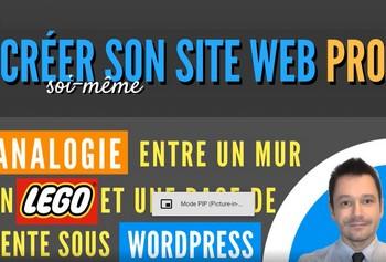 Savoir créer un site wordpress professionnel (formation en ligne)