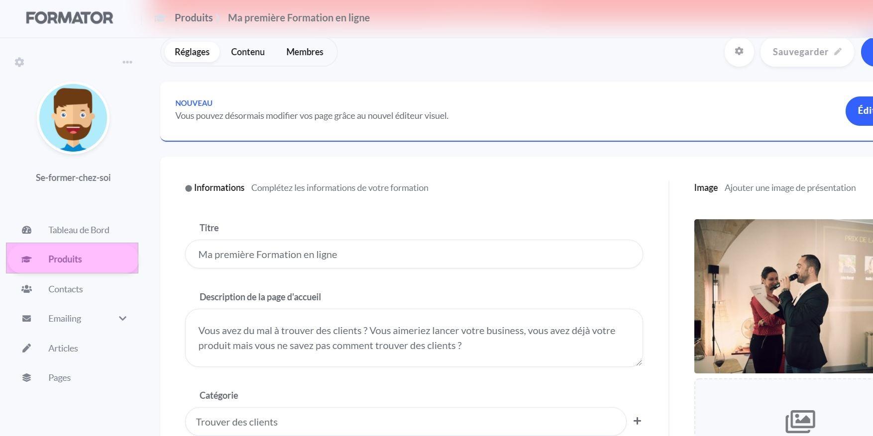 outil-vendre-formation-en-ligne-formator-io