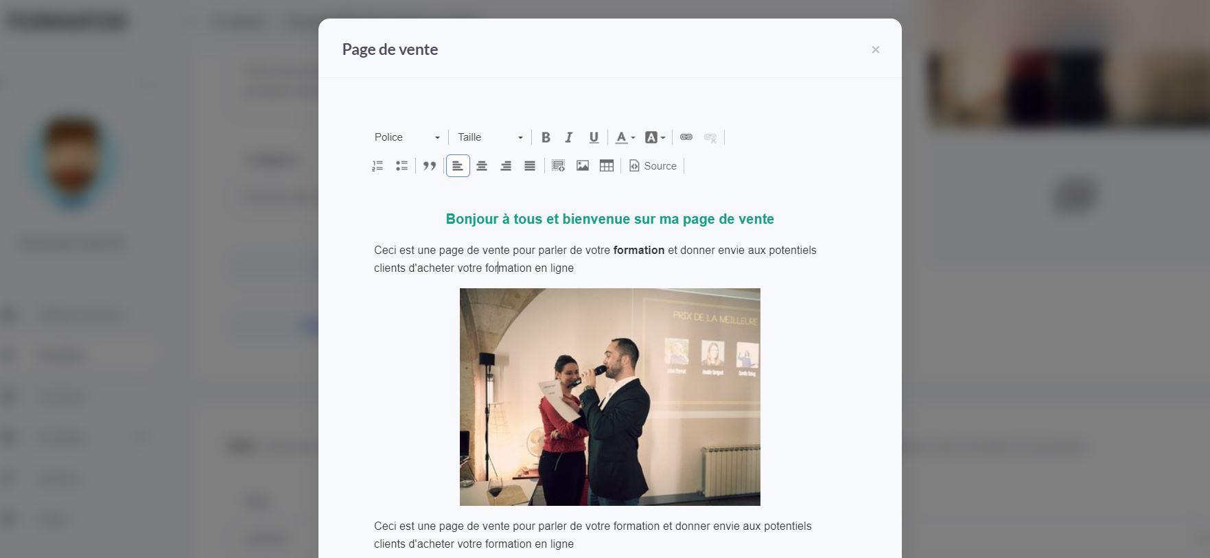 page-de-vente-tutoriel-formator-io